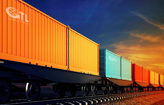 Container traffic between China, Europe and Russia on the Trans-Siberian Railway
